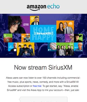 Amazon Echo Newsletter