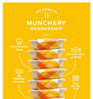 Munchery Deal Newsletter